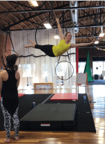 Aerial CLT (in Charlotte, NC) training session